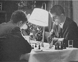 Fischer (left) vs Saidy